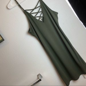 Better be size XL Basic cotton dress